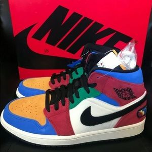Other - Blue The Great X Nike air Jordan mid 1 Se Fearless